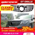 GT решетка для GLS class X166 GT решетка для Mercedes Benz GLS class GLS300 GLS350 Передняя решетка для SUV авто передняя решетка