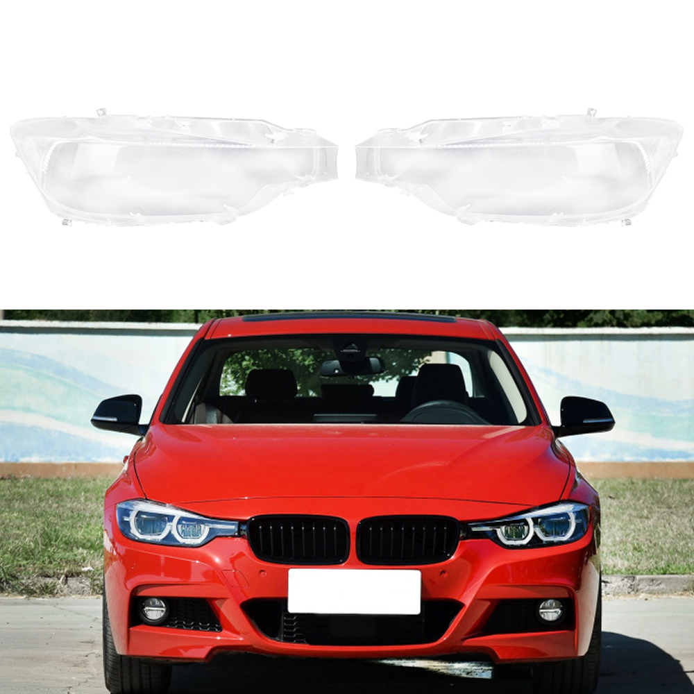 Car Front Headlamps Transparent Lampshades Lamp Shell For BMW 3 Series F30 F35 2012-2015 Headlights Cover Lens
