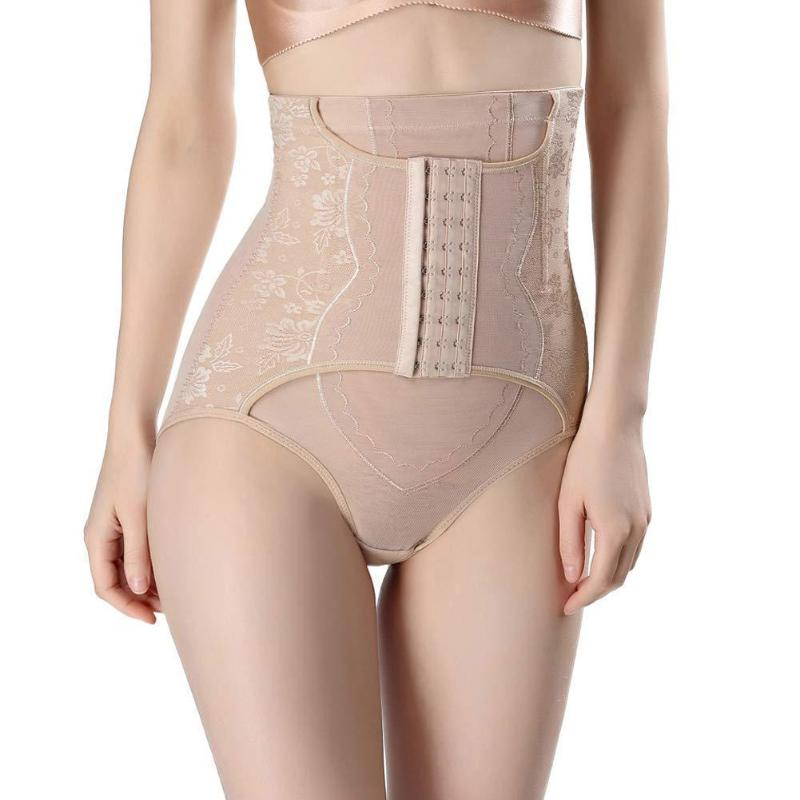 Women Butt Lift Body Shaping Underwear Tummy Control Corset Abdomen Panties Postpartum High Waist Briefs