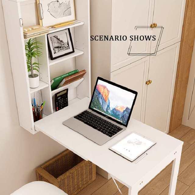 Folding Wall-Mounted Laptop Desk  4