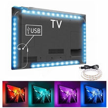 5v led luz de tira tv backlight usb 2835 smd hdtv 1m 2m 3m 5m fita lâmpada diodo flexível mesa do computador tela rgb casa luz decorativa