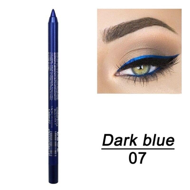 1 шт. стойкий карандаш для глаз водостойкий 14 цветов карандаш для глаз карандаш для век косметические инструменты для макияжа оптом TSLM2 - Цвет: 06