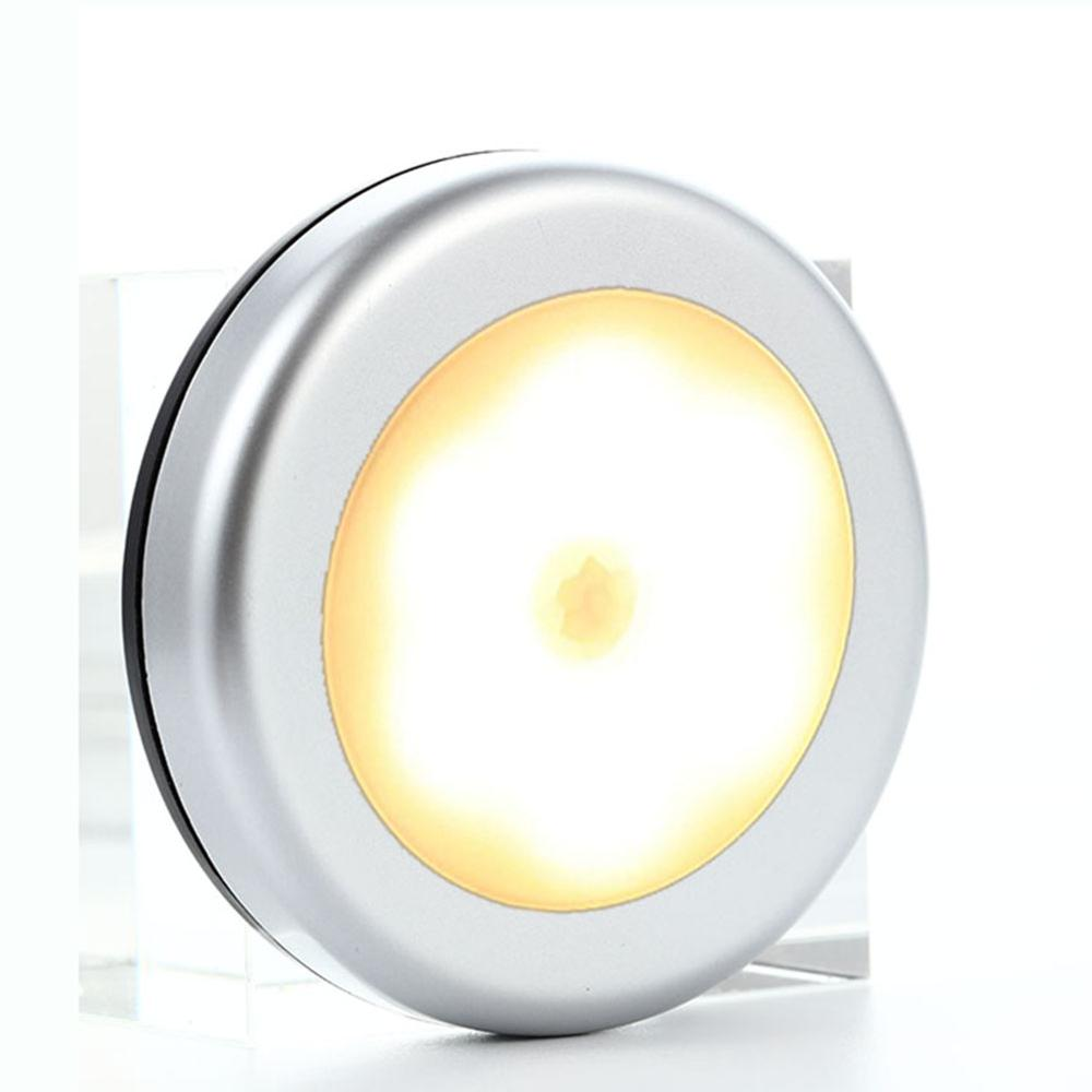 6 LED Motion Sensor Light Magnetic Wireless Detector Sensor Wall Lights Led Lamp For Closet Hallway Wardrobe Cabinet Night Light