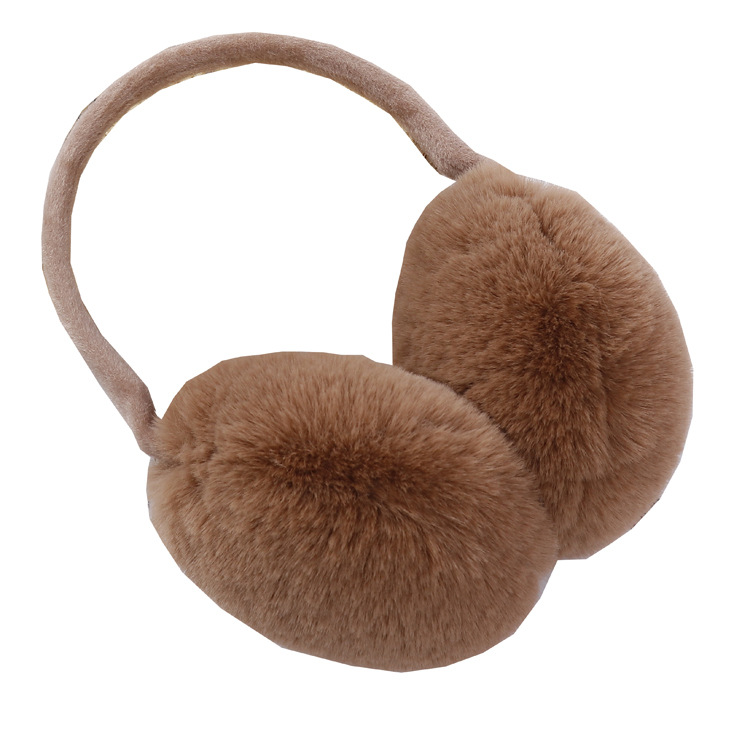 400 New Cute Winter Accessories For Women Plush Warm Winter Riding Cold And Frost-proof Earmuffs