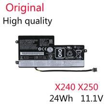 Bateria Original Para Lenovo ThinkPad T440 T440S T450 T450S X240 X240S X250 X260 X270 L450 45N1110 45N1111 45N1112 24WH 11.1V