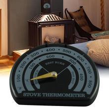 Магнитные деревянные плита термометр камин-Печь вентилятор метр термометр с чувствительным зондом Бытовая печь оборудование для барбекю