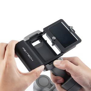 Image 5 - PGYTECH ACTION Kamera Adapter + für Mobile Gimbal für Gopro Hero7 6 5 Osmo Action DJI osmo Mobile 3 glatte 4 kamera Zubehör