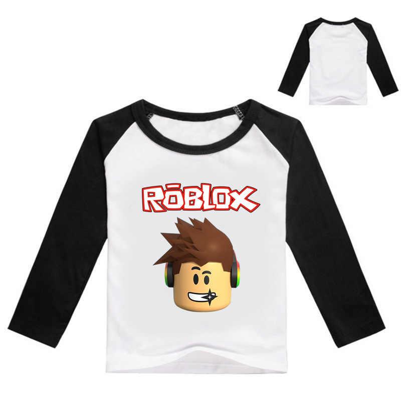 2-13 세 소년 소녀 티셔츠 어린이 소년 티셔츠 아기 긴 게임 탑스 어린이 가을 솔리드 코튼 운동복 t-1