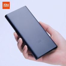 Новинка внешний аккумулятор Xiaomi Mi 3 10000 мАч Внешний аккумулятор Портативная зарядка Быстрая зарядка 10000 мАч Внешний аккумулятор поддерживает зарядку 18 Вт
