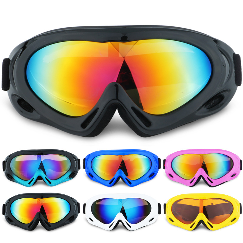Snow Glasses UV400 Skiing Goggles for Adults Kids Winter Outdoor Sports Eyewear Motorcycle Cycling