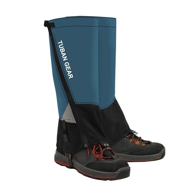Unisex NEW Waterproof Ski Shoe Cover Cycling Shoe Cover Camping Hiking Ski Boot Snow Windproof Hunting Trekking Climbing Gaiters
