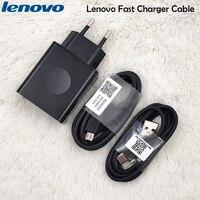 Original Lenovo 12V2A rápido de la UE Cable de cargador 100CM Micro/Tipo C USB línea para Z2 Z5 Z6 K5 S5 pro S850 K3 nota Vibe S1A40 Z90 p780c
