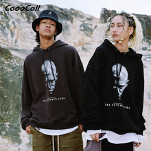 CoooColl Hoodies 19FW Harajuku Hooded HIPHOP Fashion KNIGHT Male Casual Streetwear Oversized Winter Sweatshirt hoodie Women Mens