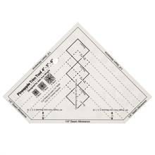 NON-SLIP The Pineapple Ruler NEW Quilting Ruler Pineapple Trim Tool 6- 8- or 10-Inch Finished Blocks #MST-03B/MST-03S(China)