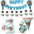 Морской Романтика Моана Тема воздушный шар набор кекс обертки для пирожных Toppers Baby Shower Дети День рождения тема вечерние декоративные принад...