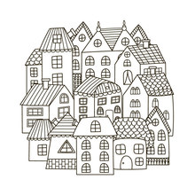 ZhuoAng Cartoon Castle / House Clear Stamps For DIY Scrapbooking/Card Making/Album Decorative Silicon Stamp Crafts