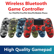 PS4 Console Game Controller Wireless Bluetooth DualShock4 Gamepad For SONY Playstation 4 PS3 PC Laptop iPad Andriod Phone iPhone