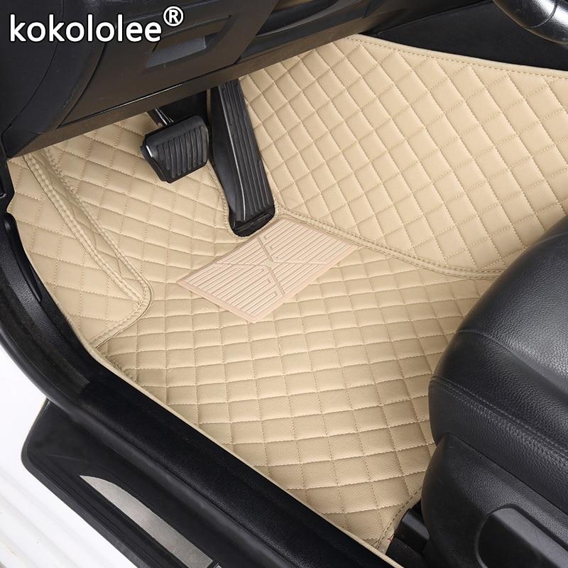 kokololee Custom car floor mats For volvo xc90 s60 v40 s40 xc60 xc40 c30 c70  s80 s90 v50 xc70 v60