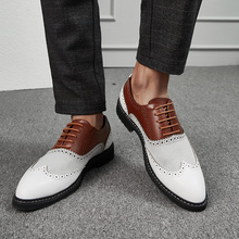 Newest Shoes Men Dress Designer Business Office Loafers Casual Driving Lace-Up Flat Party Leather zapatos