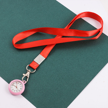 2020 New ID lanyard clip fob Nurse Pocket Watch Trendy Casual hospital gift medical clock Six Colors Optional - sale item Pocket & Fob Watches