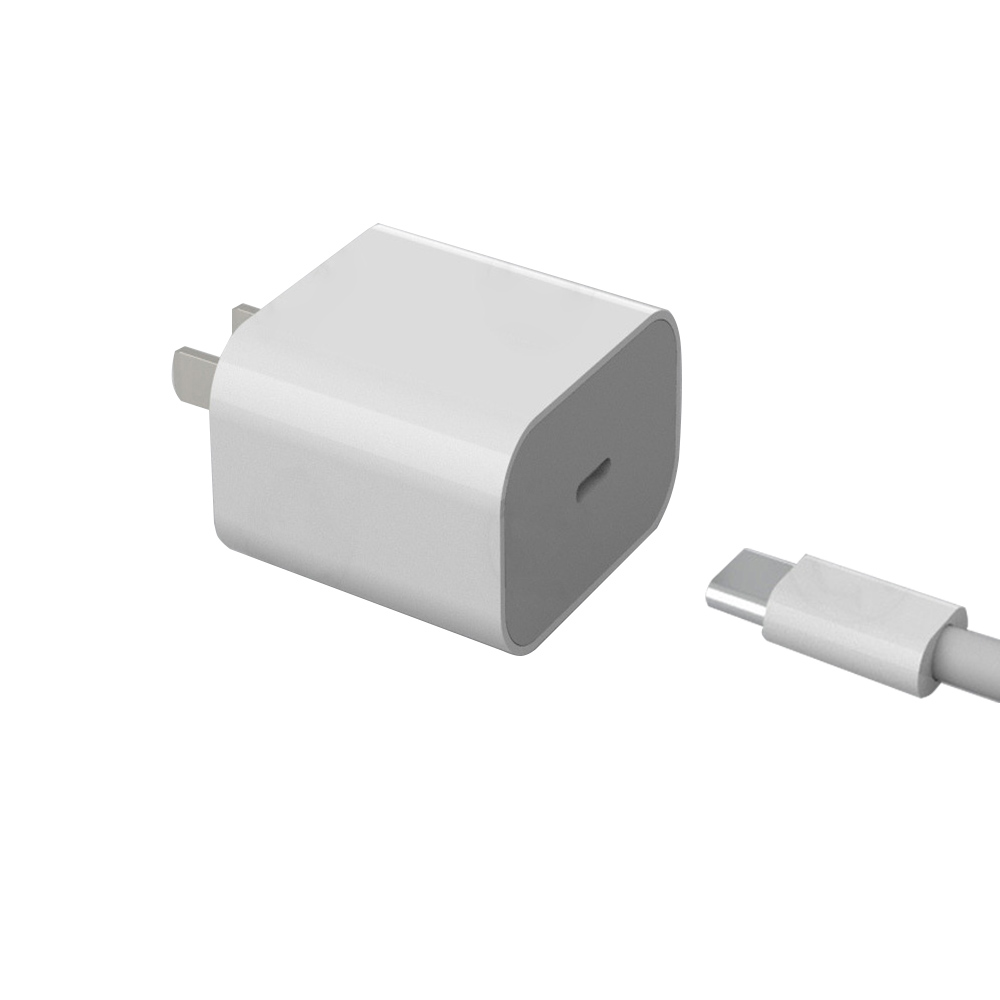 Applicable To Apple Pd Charger C-type Port 18w Fast Charging Head Charging Set For IPhone8~11 Ipad