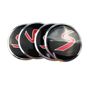 Image 4 - Для Skoda Karoq Octavia RS 2 a7 tour SSANG YONG actyon rexton kyron korando Rodius Металлические колпачки для центрального ступицы, эмблема, наклейка