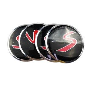 Image 4 - Voor Skoda Karoq Octavia Rs 2 A7 Tour Ssang Yong Actyon Rexton Kyron Korando Rodius Metalen Wiel Center Hub Caps embleem Sticker