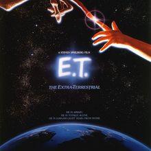 Ciencia ficción E.T. Cartel Retro de Kraft Vintage de Propaganda Alien Friend, adhesivo decorativo de lienzo para pared DIY, carteles artísticos para Bar o decoración