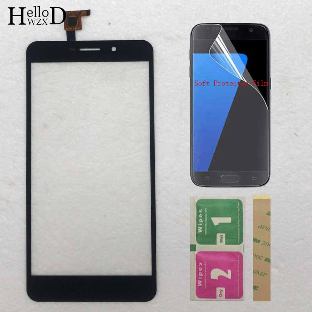 Phone Touch Screen For THL T9 T9 Pro Touch Screen Digitizer Panel Lens Glass Replacement Part Protector Film 3M Glue