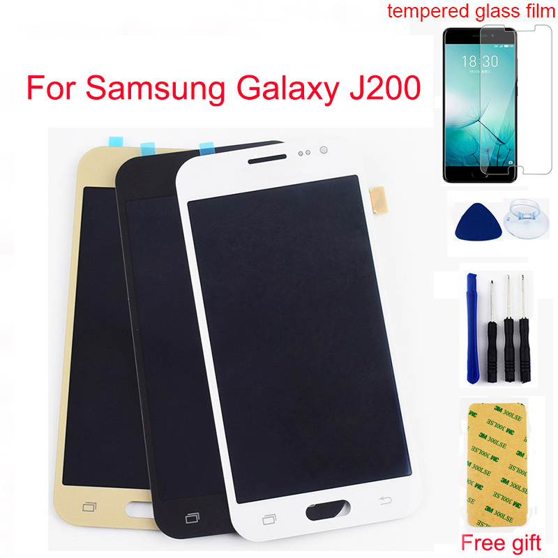 Für Samsung Galaxy J2 2015 <font><b>LCD</b></font> Bildschirm J200 <font><b>J200F</b></font> J200M J200Y J200H J200G <font><b>LCD</b></font> Display Panel Touch Screen Digitizer Montage image