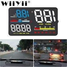 Автомобильный проектор скорости автомобиля d5000 hud измеритель