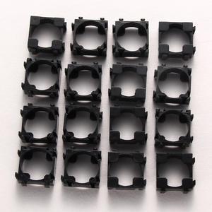 Image 2 - 100pcs Large Capacity 18650 Battery Safety Anti Vibration Holder Cylindrical  Bracket 18650 Li ion Battery Safety Holder Hot