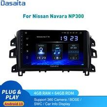 Radio samochodowe Android 10.0 dla nissana Navara / NP300 Multimedia 2014   2020 1Din Autoradio DSP HD IPS 1280*720 Carplay HDMI 4Gb 64Gb