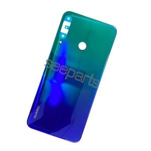 Image 4 - 100% originale Vetro Posteriore Dellalloggiamento del Portello Per Huawei P40 Lite E Posteriore della copertura di Batteria di Ricambio P40 Lite E Back cover