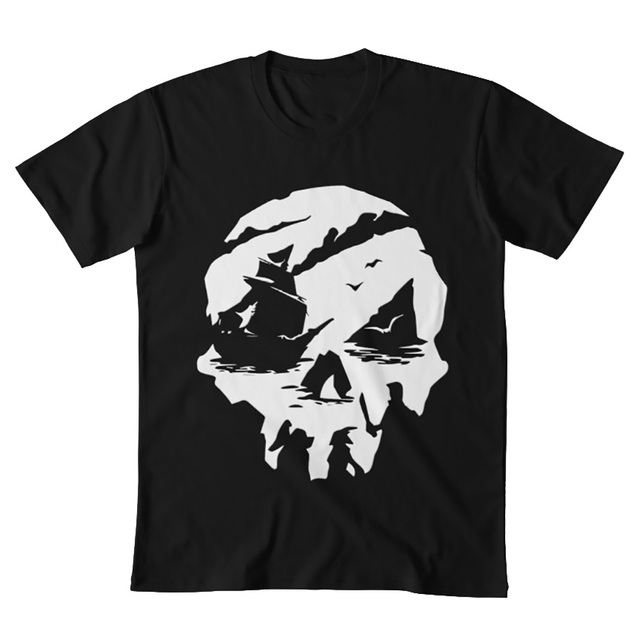 Sea of Thieves Skull T-Shirt 4