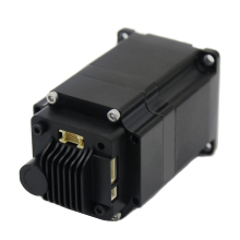 Nema23 CAN Integrated Stepper servo motor with driver 4Nm 4A Servo-stepper motor & drive Hybrid stepper servo motor