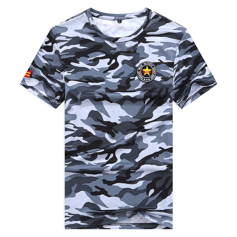 Top Quality Mens T-shirts Fashion 2020 Summer Camouflage Short Sleeves Trending Tshirt Tees Plus Asian Size L-6XL 7XL 8XL 9XL