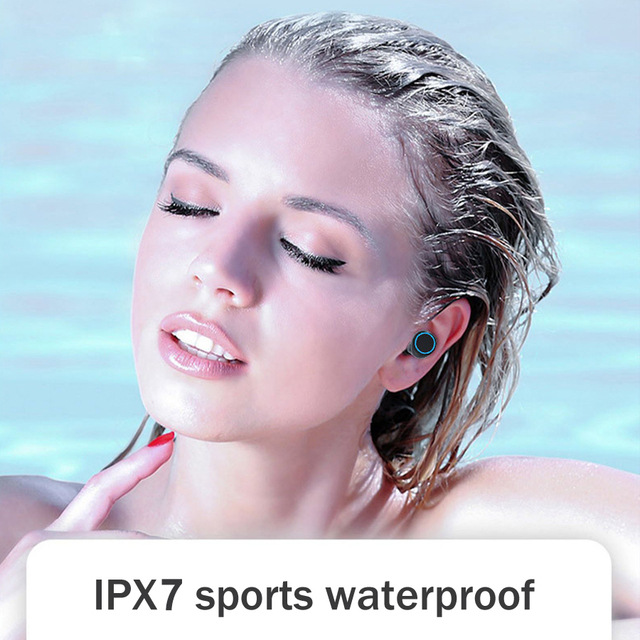 3500mAh LED Bluetooth Wireless Earphones Headphones Earbuds TWS Touch Control Sport Headset Noise Cancel Earphone Headphone 4