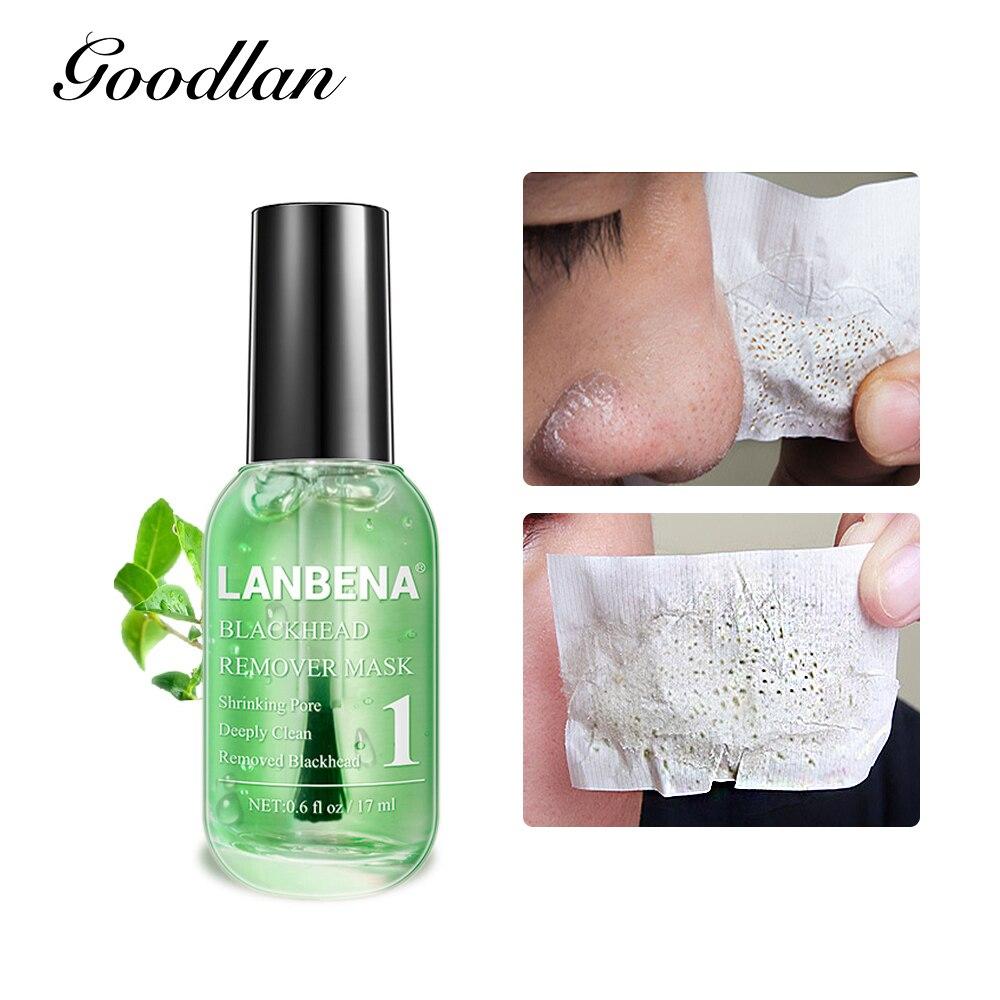 New LANBENA Blackhead Remover Black Face Mask Pore Repair Treatment Serum Anti Acne Facial Peeling Masks Cleansing Skin Care