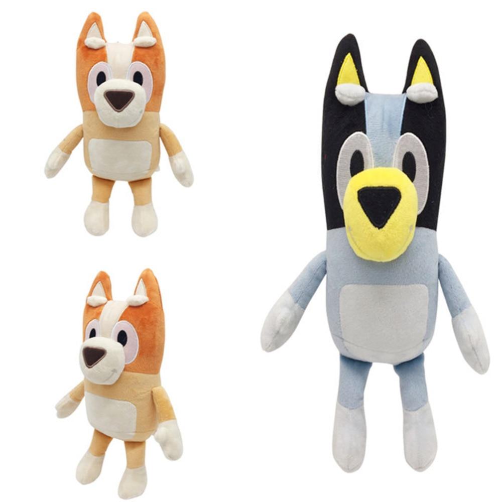 1pair/set Best Mate BLUEY & BINGO JUMBO Dog Friends ABC TV Plush Movie Christmas Figure Toy Plush Stuffed Collectible Gift