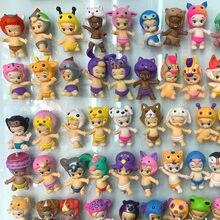 8 pièces/lot 4cm bébé ange poupée chiffres mignon anime figure jouets gâteau décoration cadeaux pour les enfants