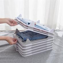 5 шт. быстрая одежда складной кабан ленивый Складывания одежды организовать доска папки футболки одежда разделители Стекируемые складной г...