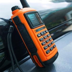 Image 5 - SENHAIX Walkie Talkie Bluetooth GP8800 ham, impermeable, TPU, Bluetooth, programación, transceptor con reflejos LED