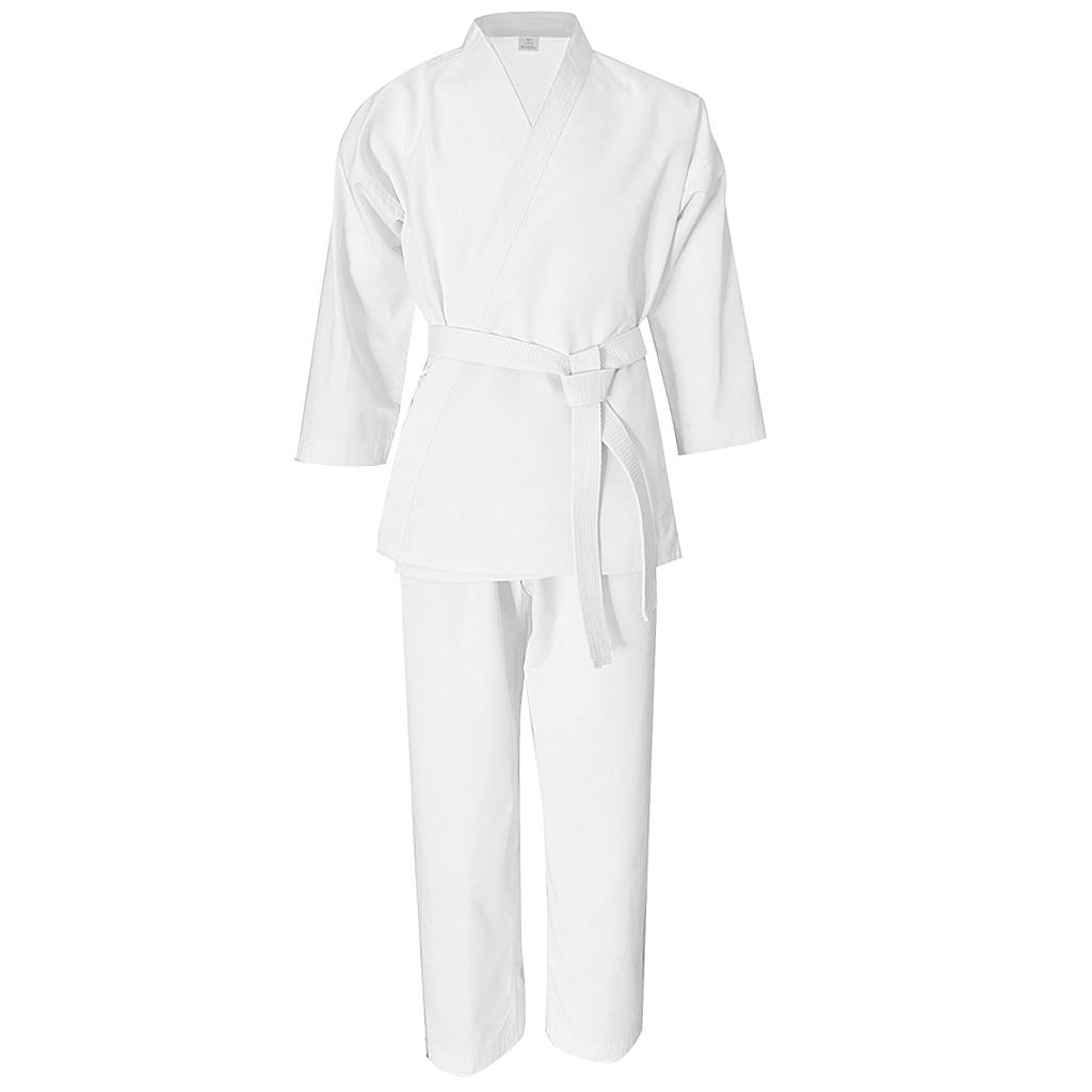 Student Karate Uniform Sportwear Taekwondo Karate Martial Arts Costume White