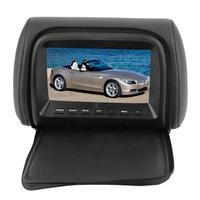 Auto Kopfstütze Monitor 7 zoll Auto Widescreen Kopfstütze LCD Monitor MP5 DVD Video Player Fernbedienung 12V Accessoire Voiture-in Auto-Monitore aus Kraftfahrzeuge und Motorräder bei