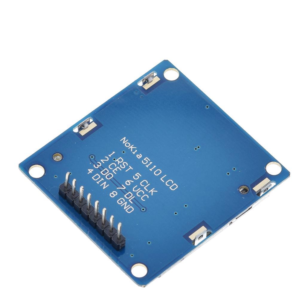Image 5 - 1pcs ShengYang di Alta Qualità 84x48 84*48 Modulo LCD Bianco  retroilluminazione adattatore PCB per Nokia 5110 per Arduino Hot In  Tutto Il Mondo-in Moduli LCD da Materiali e componenti elettronici su