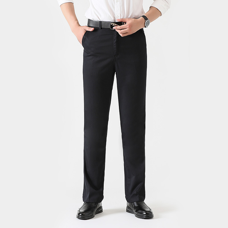 Fashion New Men's Pants Straight Loose Casual Trousers Classic Business Casual Trousers Fashion Men's Suit Pants Leisure Pants