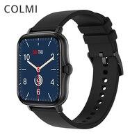 COLMI P8 Plus 1,69 zoll 2021 Smart Uhr Männer Voller Touch Fitness Tracker IP67 wasserdichte Frauen GTS 2 Smartwatch für xiaomi telefon
