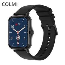Colmi p8 plus 1.69 polegada 2021 relógio inteligente masculino toque completo rastreador de fitness ip67 à prova dip67 água mulher gts 2 smartwatch para xiaomi telefone
