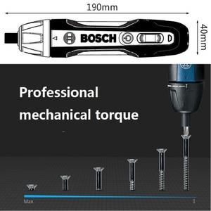 Image 4 - Bosch Mini juego de destornillador eléctrico Go 2, destornillador automático recargable de 3,6 V, taladro manual, brocas para destornillador